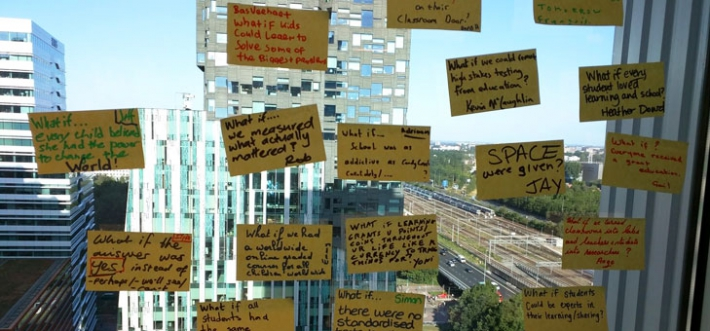 google-summit-postits